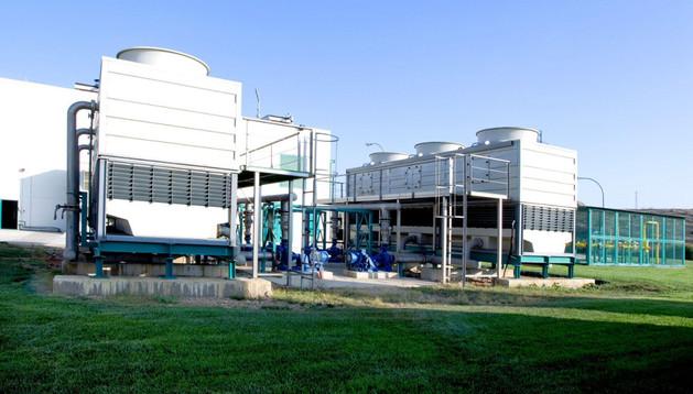 Planta de Neoelectra Ecoenergía  en Artajona