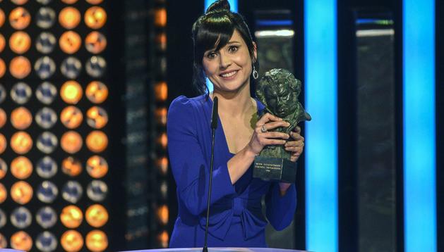 Marian Álvarez tras ganar el Goya