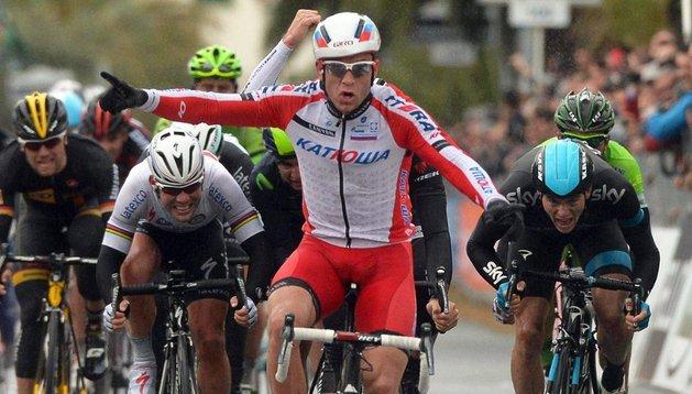El noruego Kristoff gana la Milán-San Remo