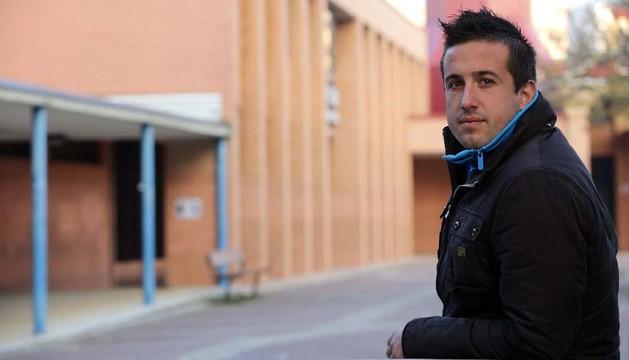 El goleador de Villava, Ángel Arizcuren