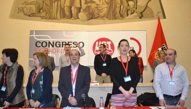 Congreso extraordinario de UGT Navarra