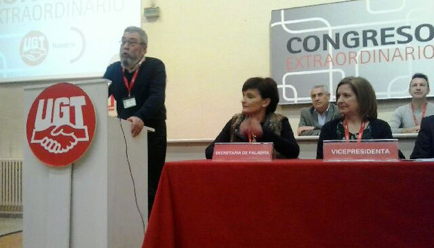 Cándido Méndez, en la clausura del congreso.