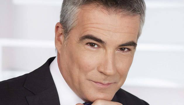David Cantero, la cara del informativo de mediodía de Telecinco