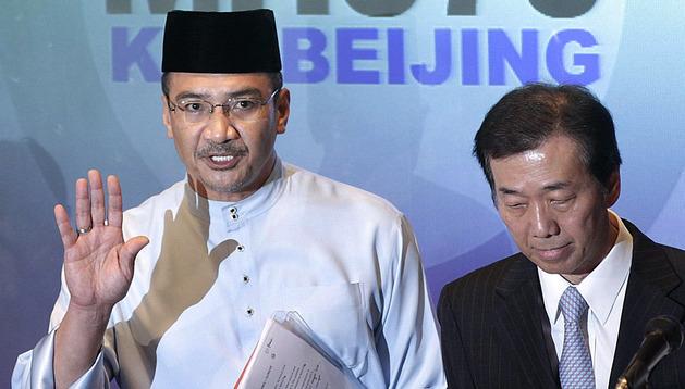 El primer ministro malayo, Hishamudin Husein, el pasado día 21