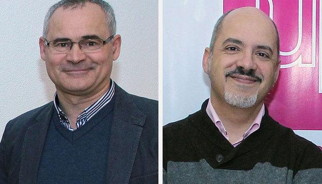 Miguel Zarranz y Diego Paños.