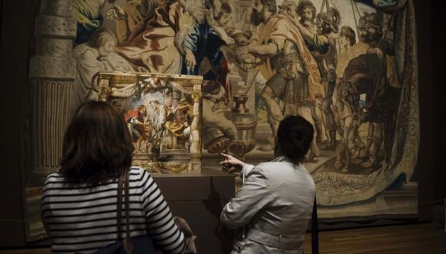 'El encuentro de Abraham y Melquisedec' que forma parte de 'Rubens. El Triunfo de la Eucaristía'