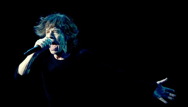 Mick Jagger, vocalista de Los Rolling Stones.