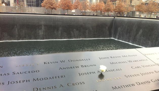 Homenaje a las víctimas del atentado 11S de Nueva York