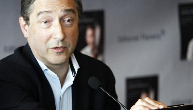 El chef Joan Roca (El Celler de Can Roca), durante la presentación en Madrid del libro
