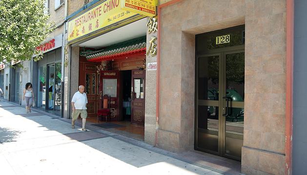El piso en el que se produjo la agresión se encuentra en la Avenida Marcelo Celayeta, 128, de Pamplona.