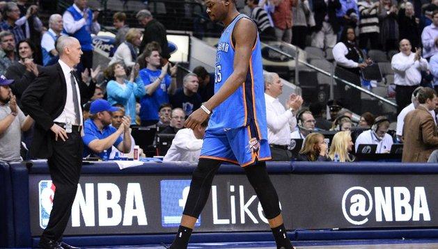 El jugador de Oklahoma, Kevin Durant