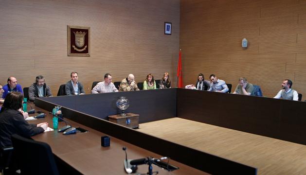 Imagen de la sesión extraordinaria celebrada el día 14 de este mes