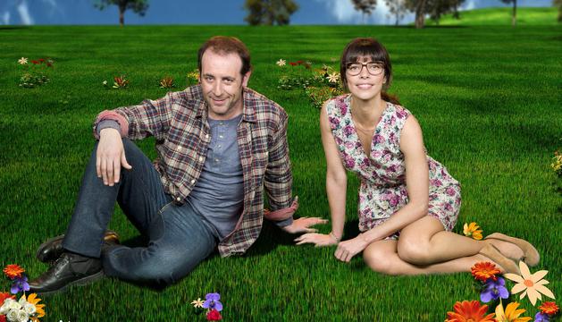 Antonio Molero y Maribel Verdú en el cartel de promoción de la obra