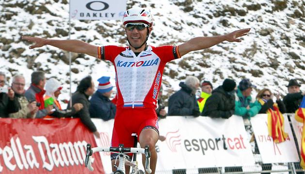 El ciclista español Joaquim