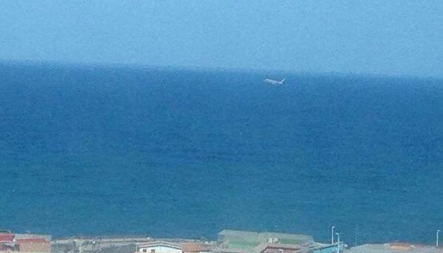 El remolcador, cerca de la costa de Gran Canaria.
