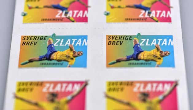 Los sellos del futbolista Ibrahimovic