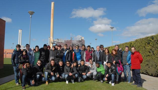 Los estudiantes italianos que han visitado Rockwool.