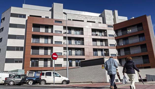 Nueva urbanización de pisos en Estella