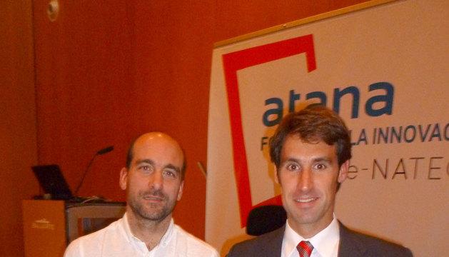 Koldo Ábrego y Javier Fernández