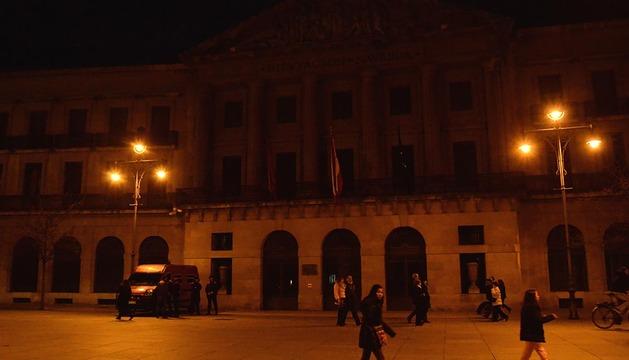 Pamplona se suma a la 'Hora del Planeta'