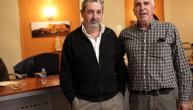 Gustavo Rodríguez (izda.) y Félix Rodrigo, elegidos vocales