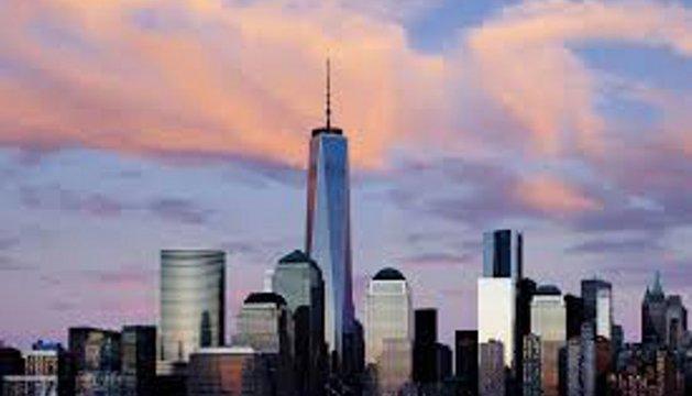 La Torre de la Libertad en la zona cero de Nueva York
