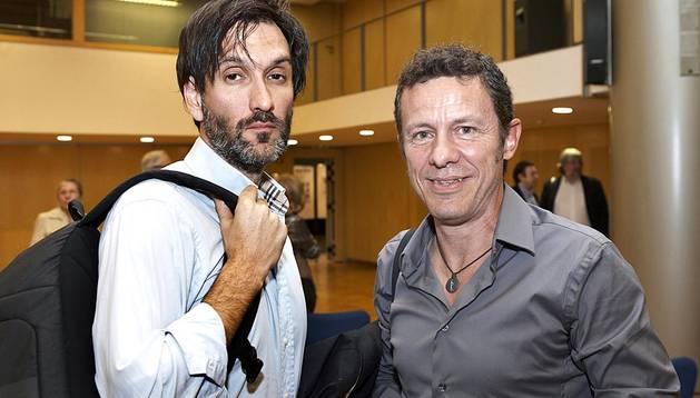 Los periodistas de El Mundo Javier Espinosa y Ricardo García llegaron a España este domingo 30 de marzo tras ser liberados en Siria después de estar seis meses secuestrados.