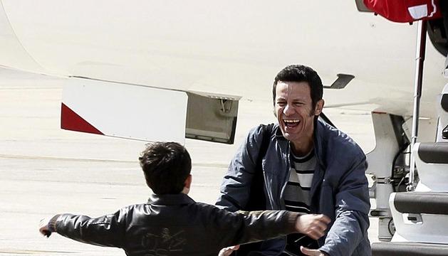 Llegan a España los periodistas secuestrados en Siria
