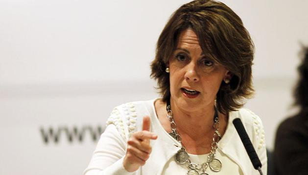 La presidenta Barcina,  en el consejo político de UPN