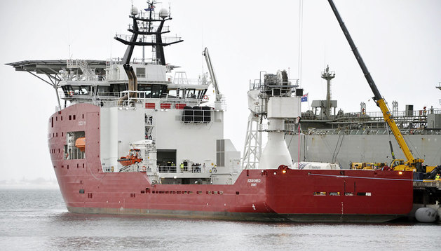 El buque 'Ocean shield'