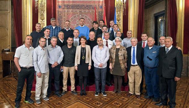 Barcina y Goicoechea, con los empresarios israelíes