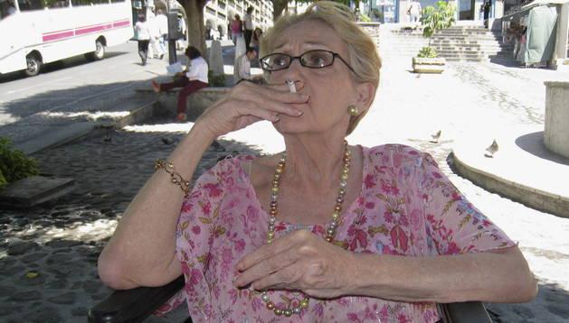 Helena Paz Garro en una imagen de archivo