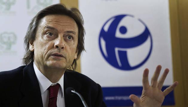 El presidente de Transparencia Internacional España, Jesús Lizcano.