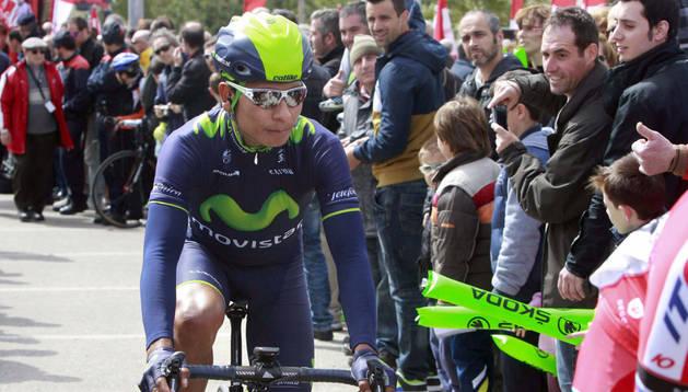 Nairo Quintana, en la sexta etapa de la Volta a Catalunya