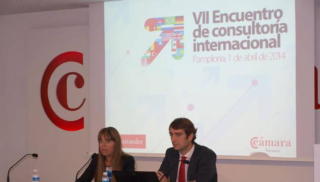 Un total de 40 empresas navarras han participado en el VII Encuentro de Consultoría Internacional con representantes que la Cámara Navarra tiene en 75 países de los cinco continentes, con el objetivo de incrementar y potenciar sus exportaciones.