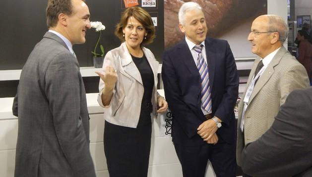 La Presidenta Barcina en Alimentaria 2014