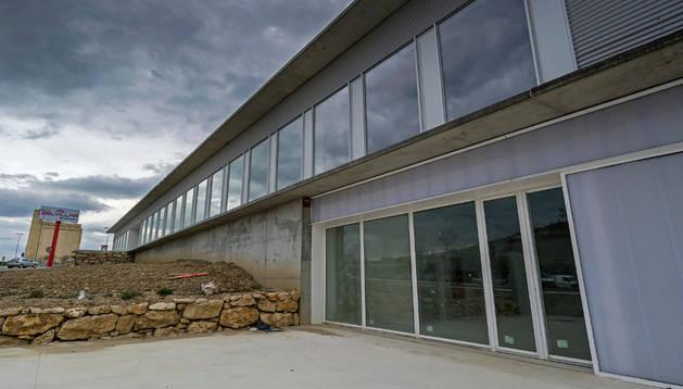 Edificio nuevo de la escuela