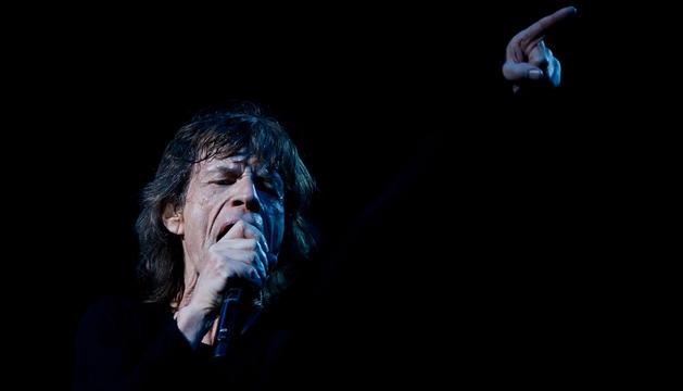 Mick Jagger, el 12 de marzo en Shanghai.