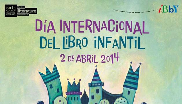 Cartel de del 'Día internacional del libro infantil y juvenil' en Civican