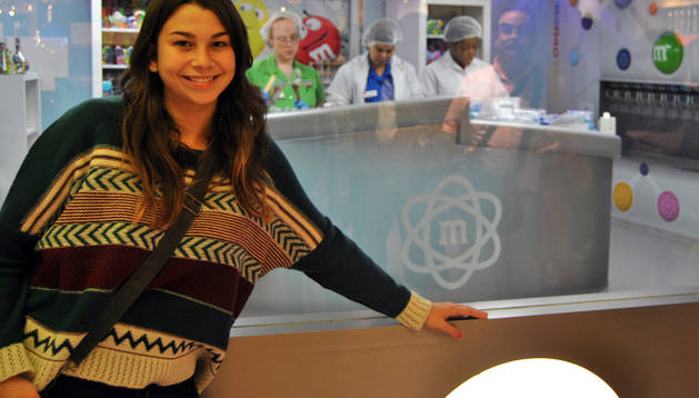 La estudiante de Barañáin Marina Bárcena Varela se encuentra en Plymouth (Inglaterra) de Erasmus