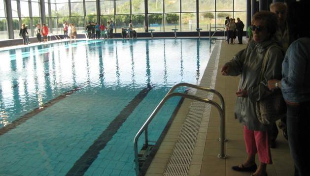 Imagen de las piscinas de Alsasua, gestionadas por la sociedad pública Atabo