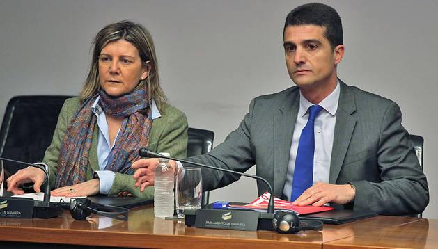 Gemma Botín Cociña y Mariano Oto Vinués