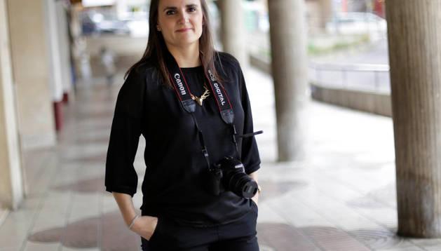 Mavi Escribano Iturralde, ganadora del reto 'Oficios' de Fototuitribera