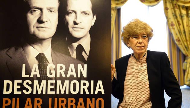 La periodista Pilar Urbano durante la presentación de su libro 'La gran desmemoria. Lo que Suárez olvidó y el Rey prefiere no recordar'.
