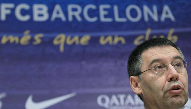 Bartomeu, presidente del Barça.