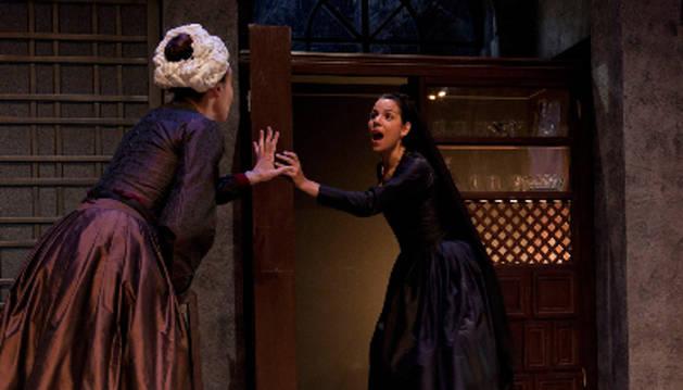 Una escena de 'La dama duende'