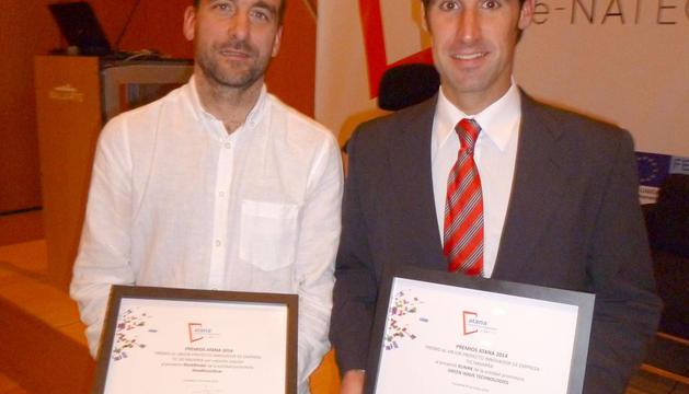 Javier Fernández Huerta y Koldo Ábrego