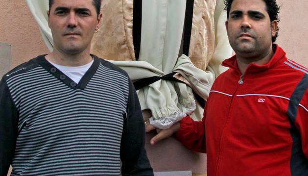 Agustín Pacheco y Koldo Ciaurriz con