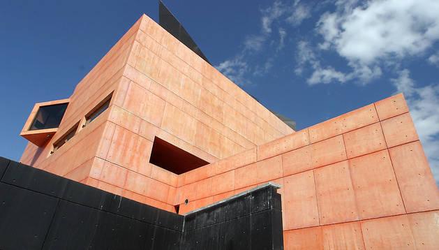 Exterior del Museo Jorge Oteiza en Alzuza