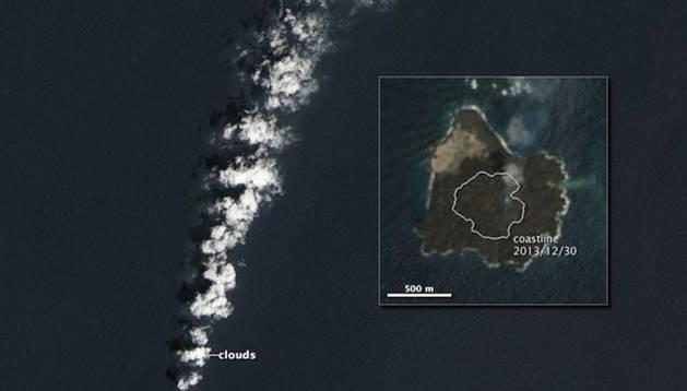 La nueva isla del Pacífico.